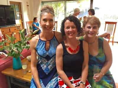 3 female writers - members of Hunter Writers Centre